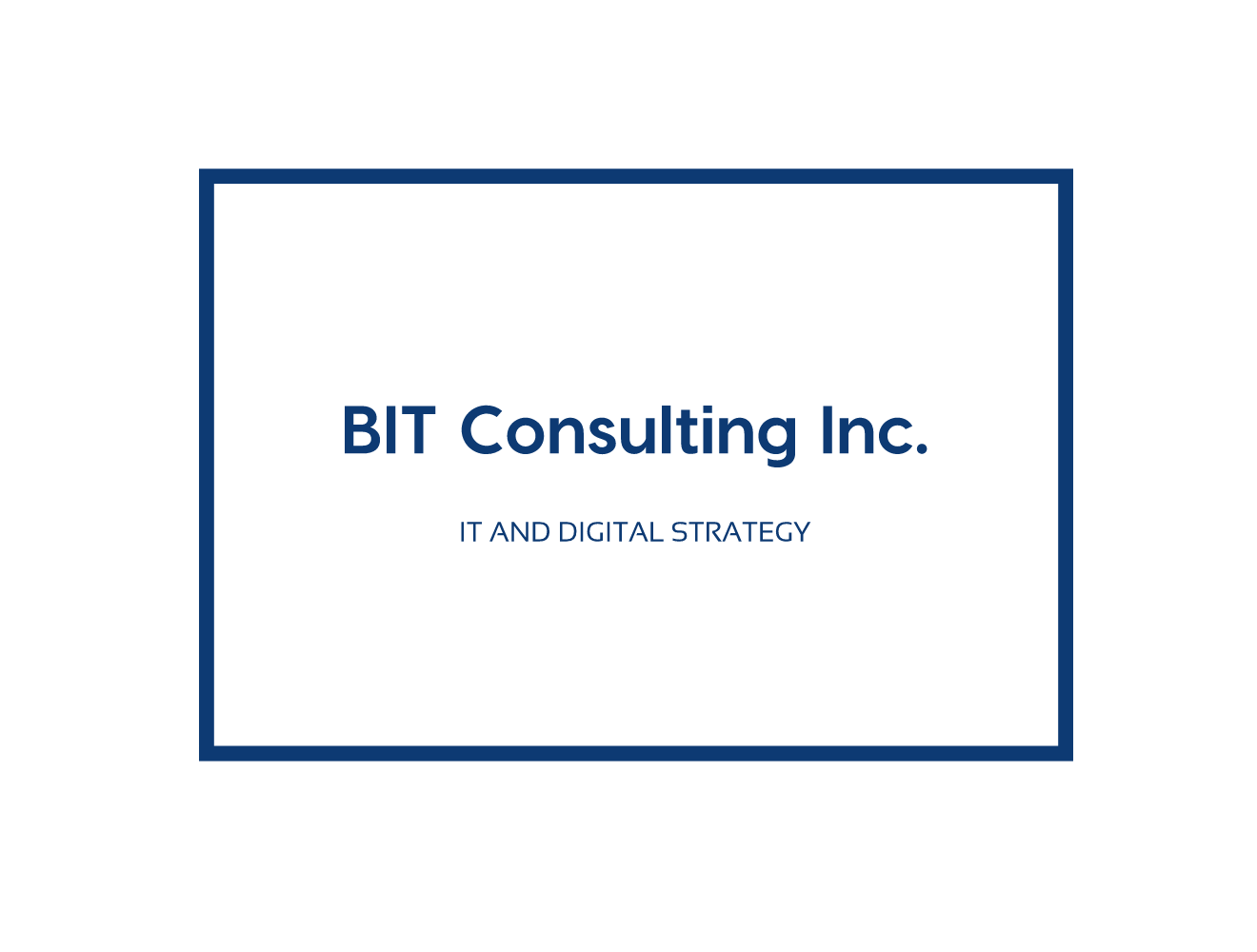 Byers IT Consulting